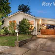 Rental info for THE IDEAL FAMILY HOME! in the Melbourne area