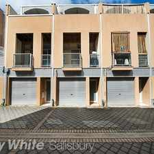 Rental info for Professionally Packaged 3 Storey Townhouse! in the Adelaide area