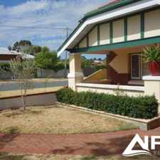 Rental info for Ideally Located Family Home in the Mount Hawthorn area