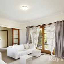 Rental info for SPACIOUS FAMILY HOME IN BURWOOD!