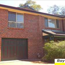 Rental info for ENSUITE, WALK IN ROBE TO BED 1, WALK TO PENRITH in the Penrith area