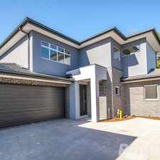 Rental info for 3 bedroom, 2 bathroom executive townhouse in the Melbourne area
