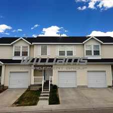 Rental info for Overlake Subdivision. Brett Street Townhouse