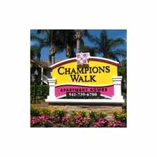 Rental info for Champions Walk