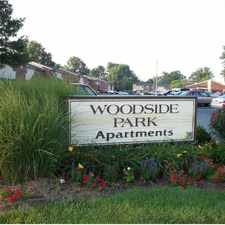 Rental info for Woodside Park Apartments