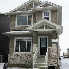 Rental info for Morinville 3 bedrooms House for rent!