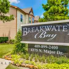 Rental info for Breakwater Bay Apartments in the Beaumont area