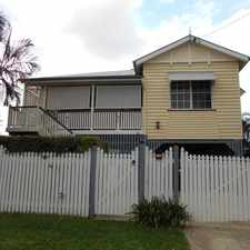 Rental info for RENOVATED QUEENSLANDER IN SUPERB POSITION!! in the Newmarket area