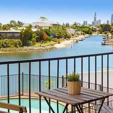 Rental info for Waterfront 4 Bedroom Home In Broadbeach Waters in the Broadbeach Waters area