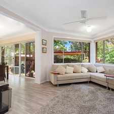 Rental info for WELL PRESENTED FAMILY HOME in the Kellyville area