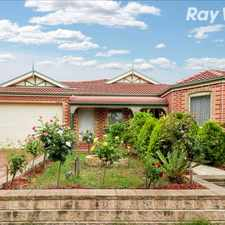Rental info for SPACIOUS FAMILY HOME IN MT COOPER! in the Melbourne area