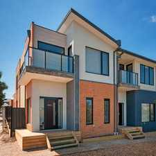 Rental info for FOUR BEDROOM TOWNHOUSE in the Melbourne area
