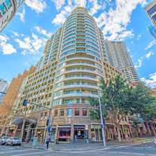 Rental info for Spacious One Bedroom Apartment in Vibrant City Location in the Sydney area