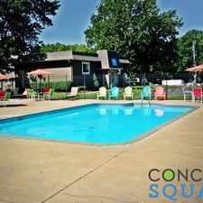 Rental info for Concord Square