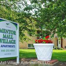 Rental info for 7950 Mentor Ave in the Mentor area