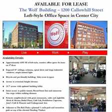 Rental info for 340 North 12th Street