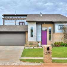 Rental info for 17321 Sparrowhawk Ln in the Oklahoma City area