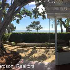 Rental info for 102 San Nicholas Ave in the Santa Barbara area