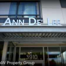Rental info for AnnDe'Lee in the Portland area