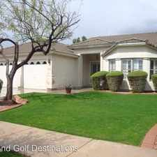 Rental info for 1332 W Lynx Way in the Chandler area