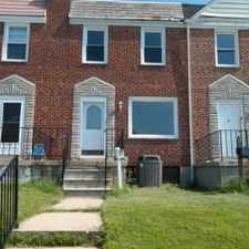 Rental info for 7534 School Ave in the Dundalk area