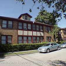 Rental info for 1126-1136 Berthea in the Houston area