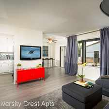 Rental info for 3170 Canyon Crest Drive in the University area