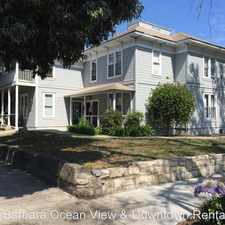 Rental info for 333 West Ortega in the 93101 area