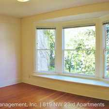 Rental info for 819 NW 23rd Ave in the Hillside area
