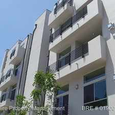 Rental info for 5605 GENTRY AVENUE #101 in the Los Angeles area