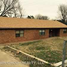 Rental info for 629 E. Tyler in the McAlester area