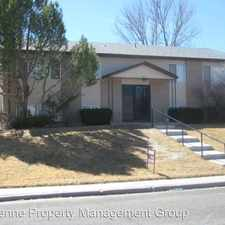 Rental info for 1737 Oxford in the Cheyenne area