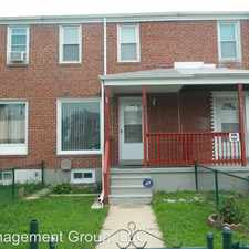 Rental info for 7845 St Fabian Ln in the Dundalk area