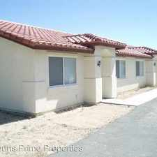 Rental info for 6671 Ocotillo Ave in the Twentynine Palms area