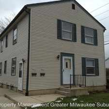 Rental info for 4839 W. Lynndale Avenue in the Milwaukee area