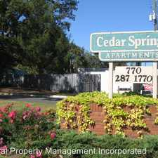 Rental info for Cedar Way Drive & Spring Lane