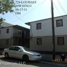 Rental info for 722-24 Louisa in the St. Claude area