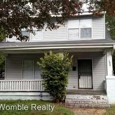 Rental info for 830 W. 37th Street in the Norfolk area