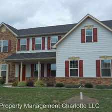 Rental info for 1008 Nutgrove Lane in the Indian Trail area