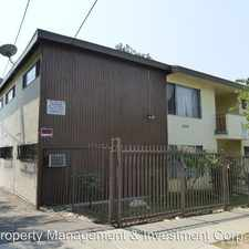 Rental info for 5624 Meridian Apt 103 in the Los Angeles area