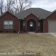 Rental info for 95 Earnhardt Cir in the Cabot area
