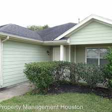 Rental info for 19827 Plantation Grove Trail in the Houston area