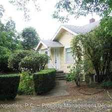Rental info for 5960 SE Flavel Drive