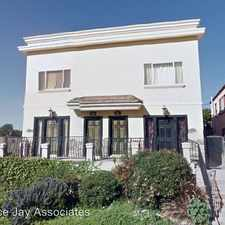 Rental info for 977½ Marview Ave