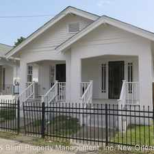 Rental info for 7832-34 Colapissa St. - 7834 in the New Orleans area
