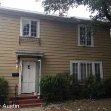 Rental info for 824 East 30th in the University of Texas-Austin area