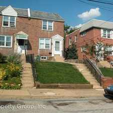 Rental info for 7815 Westview in the Drexel Hill area
