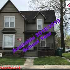 Rental info for 527 N. Lafayette in the Macomb area