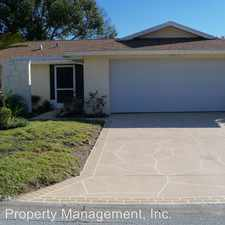 Rental info for 8210 Palencia Drive