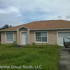 Rental info for 1406 Orlando Place